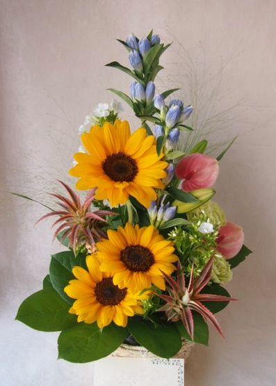花ギフト|フラワーギフト|誕生日 花|カノシェ話題|スタンド花|ウエディングブーケ|花束|花屋|41758