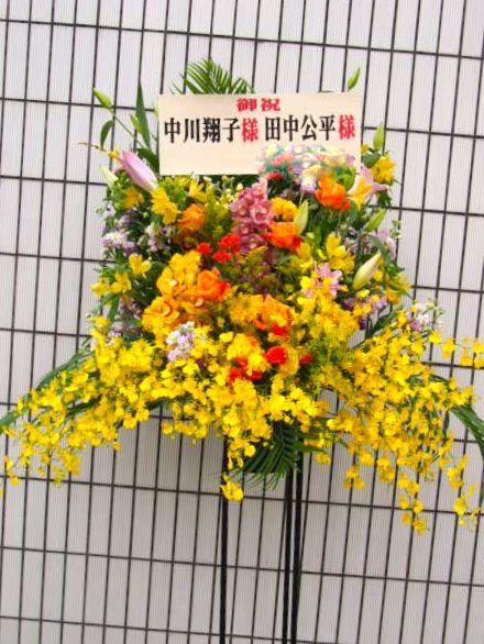花ギフト|フラワーギフト|誕生日 花|カノシェ話題|スタンド花|ウエディングブーケ|花束|花屋|52542