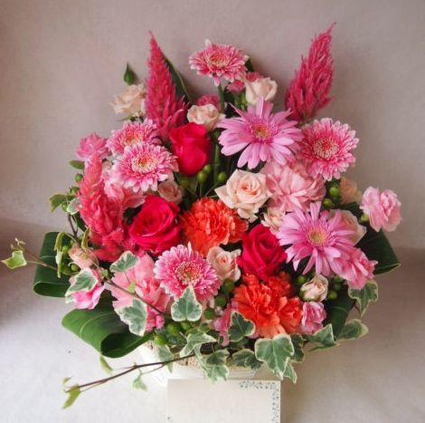 花ギフト|フラワーギフト|誕生日 花|カノシェ話題|スタンド花|ウエディングブーケ|花束|花屋|41553