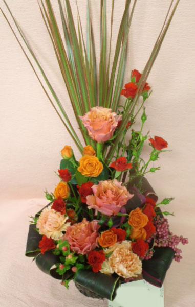 花ギフト フラワーギフト 誕生日 花 カノシェ話題 スタンド花 ウエディングブーケ 花束 花屋 jun-or