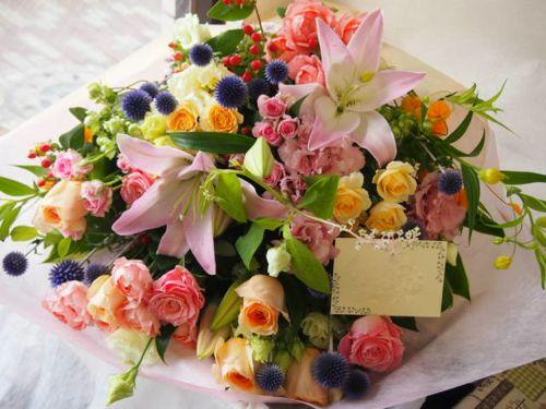 花ギフト|フラワーギフト|誕生日 花|カノシェ話題|スタンド花|ウエディングブーケ|花束|花屋|56967