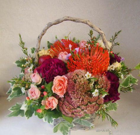 花ギフト|フラワーギフト|誕生日 花|カノシェ話題|スタンド花|ウエディングブーケ|花束|花屋|50815