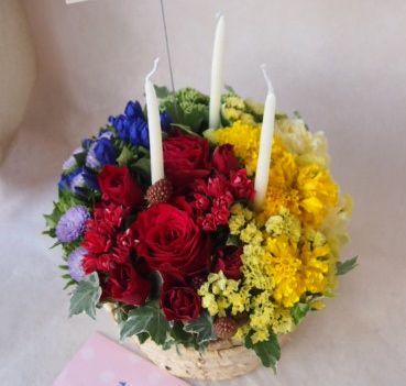 花ギフト|フラワーギフト|誕生日 花|カノシェ話題|スタンド花|ウエディングブーケ|花束|花屋|41823