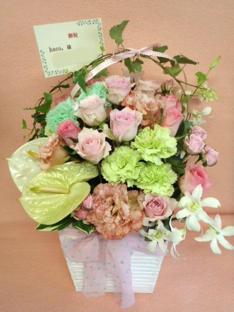 花ギフト|フラワーギフト|誕生日 花|カノシェ話題|スタンド花|ウエディングブーケ|花束|花屋|ayumi4