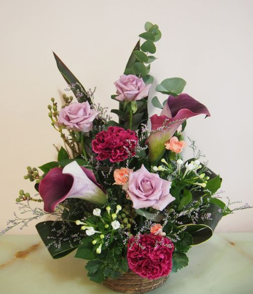 花ギフト|フラワーギフト|誕生日 花|カノシェ話題|スタンド花|ウエディングブーケ|花束|花屋|58195