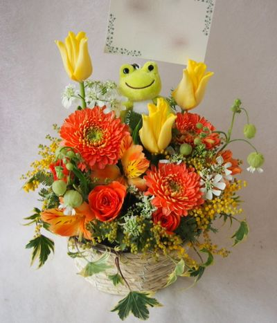 花ギフト|フラワーギフト|誕生日 花|カノシェ話題|スタンド花|ウエディングブーケ|花束|花屋|38654