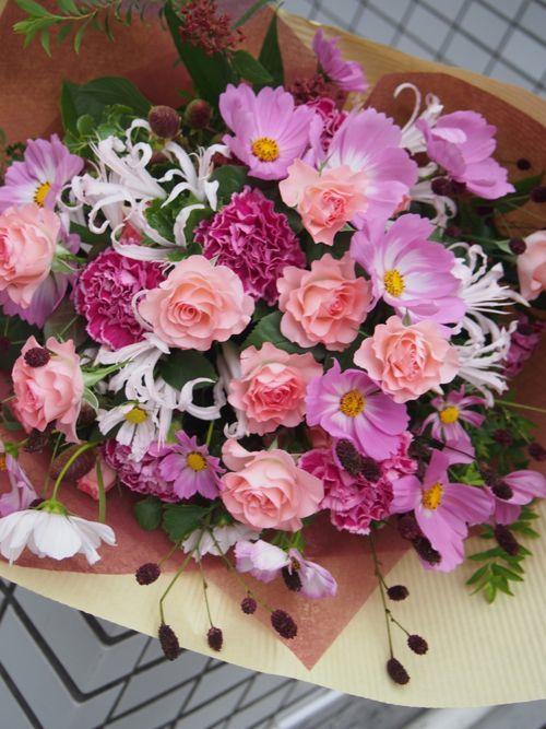 花ギフト|フラワーギフト|誕生日 花|カノシェ話題|スタンド花|ウエディングブーケ|花束|花屋|P9181138