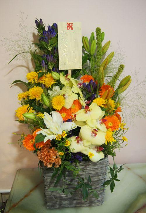 花ギフト|フラワーギフト|誕生日 花|カノシェ話題|スタンド花|ウエディングブーケ|花束|花屋|58587