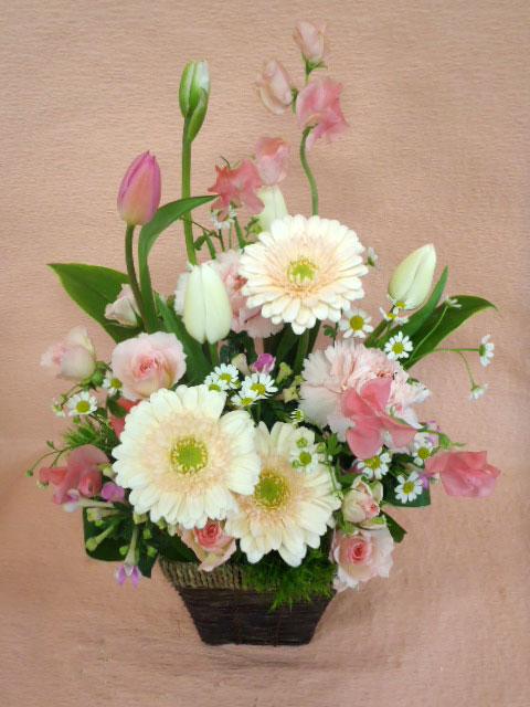 花ギフト フラワーギフト 誕生日 花 カノシェ話題 スタンド花 ウエディングブーケ 花束 花屋 psaya