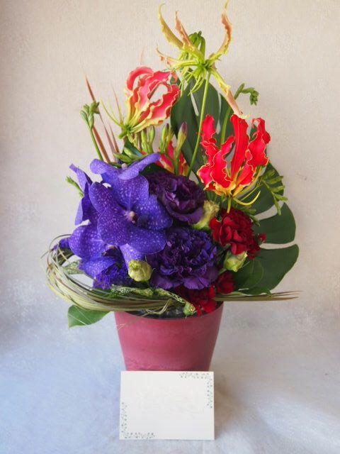 花ギフト|フラワーギフト|誕生日 花|カノシェ話題|スタンド花|ウエディングブーケ|花束|花屋|54337