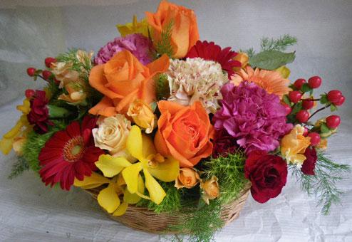 花ギフト|フラワーギフト|誕生日 花|カノシェ話題|スタンド花|ウエディングブーケ|花束|花屋|じゅんオレンジ