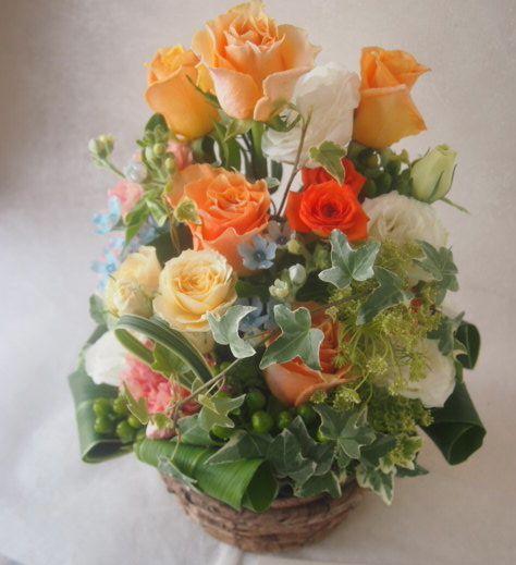 花ギフト|フラワーギフト|誕生日 花|カノシェ話題|スタンド花|ウエディングブーケ|花束|花屋|48306