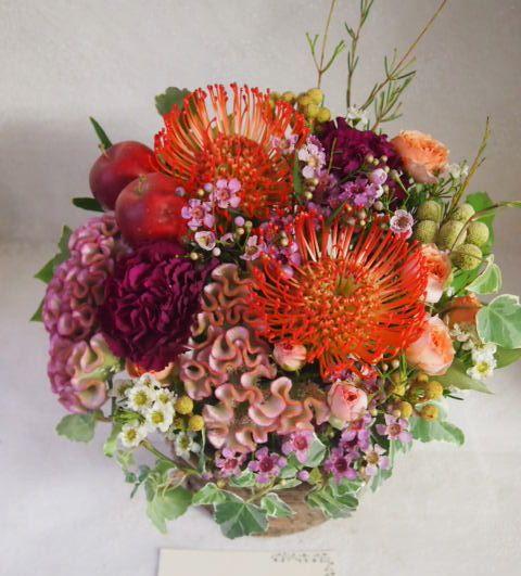 花ギフト|フラワーギフト|誕生日 花|カノシェ話題|スタンド花|ウエディングブーケ|花束|花屋|50700