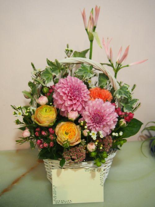 花ギフト|フラワーギフト|誕生日 花|カノシェ話題|スタンド花|ウエディングブーケ|花束|花屋|58442