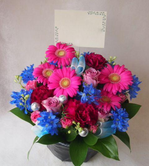 花ギフト|フラワーギフト|誕生日 花|カノシェ話題|スタンド花|ウエディングブーケ|花束|花屋|41639