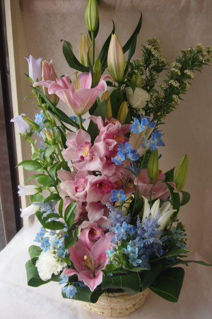 花ギフト|フラワーギフト|誕生日 花|カノシェ話題|スタンド花|ウエディングブーケ|花束|花屋|47369
