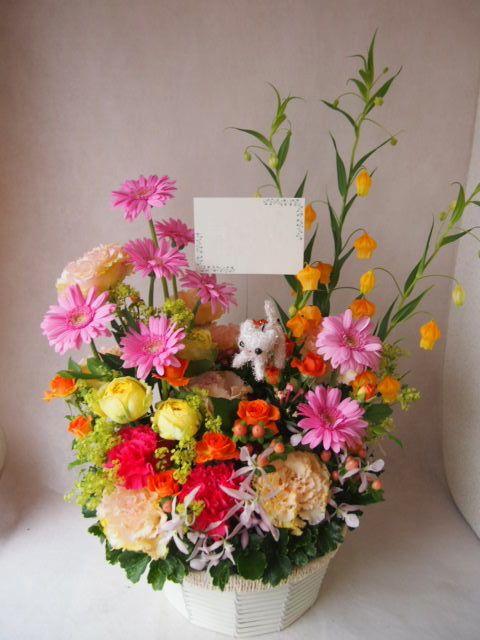 花ギフト|フラワーギフト|誕生日 花|カノシェ話題|スタンド花|ウエディングブーケ|花束|花屋|41252