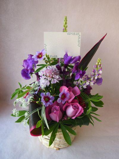 花ギフト|フラワーギフト|誕生日 花|カノシェ話題|スタンド花|ウエディングブーケ|花束|花屋|38296