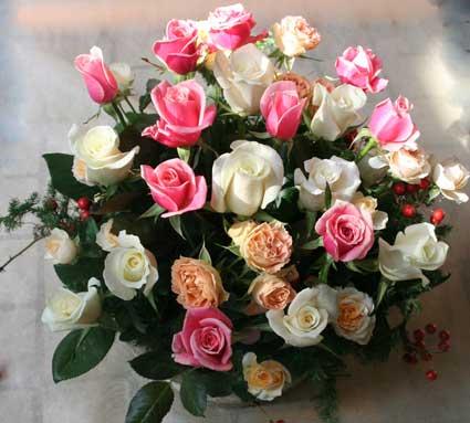 花ギフト フラワーギフト 誕生日 花 カノシェ話題 スタンド花 ウエディングブーケ 花束 花屋 ジューク