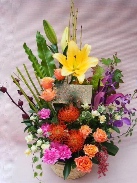 花ギフト|フラワーギフト|誕生日 花|カノシェ話題|スタンド花|ウエディングブーケ|花束|花屋|51575