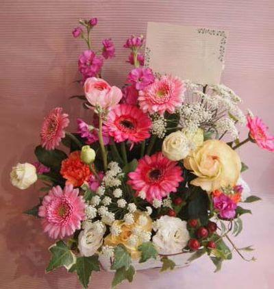 花ギフト|フラワーギフト|誕生日 花|カノシェ話題|スタンド花|ウエディングブーケ|花束|花屋|37140