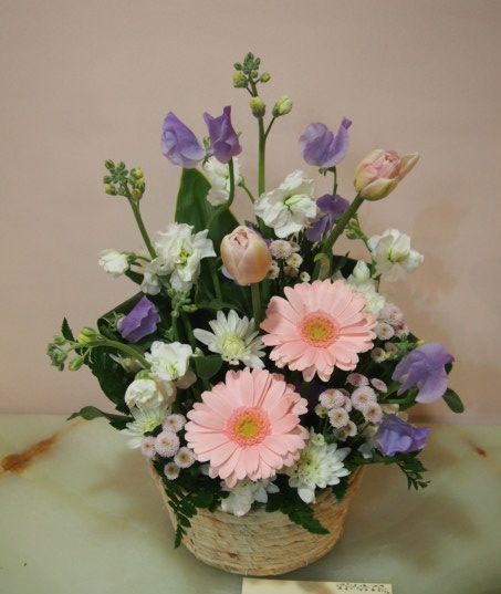 花ギフト|フラワーギフト|誕生日 花|カノシェ話題|スタンド花|ウエディングブーケ|花束|花屋|53599