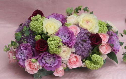 花ギフト フラワーギフト 誕生日 花 カノシェ話題 スタンド花 ウエディングブーケ 花束 花屋 IMG_0069