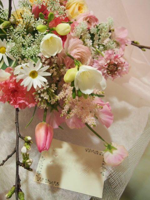 花ギフト|フラワーギフト|誕生日 花|カノシェ話題|スタンド花|ウエディングブーケ|花束|花屋|54020