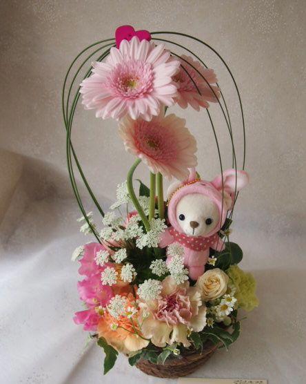 花ギフト|フラワーギフト|誕生日 花|カノシェ話題|スタンド花|ウエディングブーケ|花束|花屋|53396