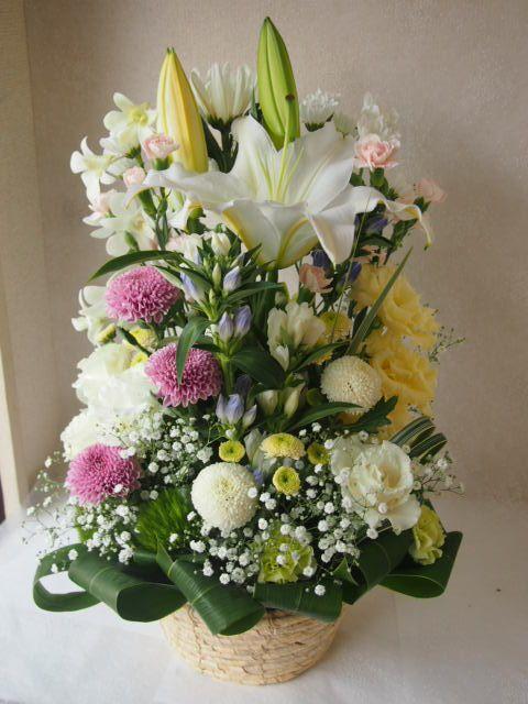花ギフト|フラワーギフト|誕生日 花|カノシェ話題|スタンド花|ウエディングブーケ|花束|花屋|49587