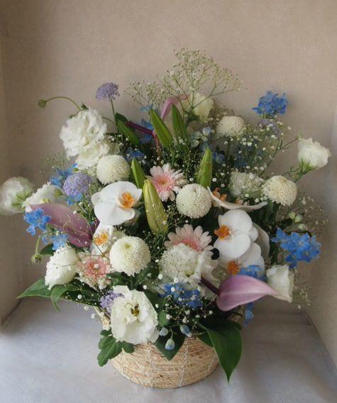 花ギフト|フラワーギフト|誕生日 花|カノシェ話題|スタンド花|ウエディングブーケ|花束|花屋|56079