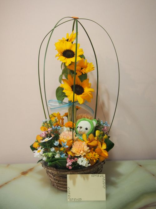 花ギフト|フラワーギフト|誕生日 花|カノシェ話題|スタンド花|ウエディングブーケ|花束|花屋|56158