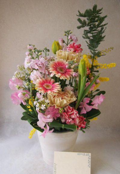 花ギフト|フラワーギフト|誕生日 花|カノシェ話題|スタンド花|ウエディングブーケ|花束|花屋|54100