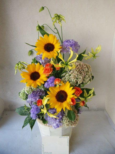 花ギフト|フラワーギフト|誕生日 花|カノシェ話題|スタンド花|ウエディングブーケ|花束|花屋|57584