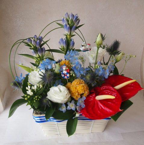 花ギフト|フラワーギフト|誕生日 花|カノシェ話題|スタンド花|ウエディングブーケ|花束|花屋|49957