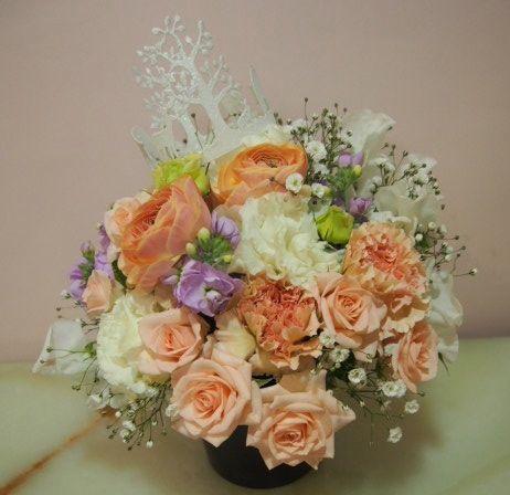 花ギフト|フラワーギフト|誕生日 花|カノシェ話題|スタンド花|ウエディングブーケ|花束|花屋|54022(1)