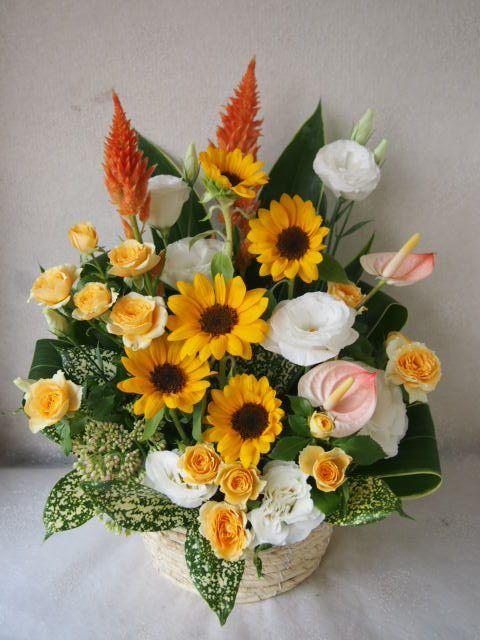 花ギフト|フラワーギフト|誕生日 花|カノシェ話題|スタンド花|ウエディングブーケ|花束|花屋|57675