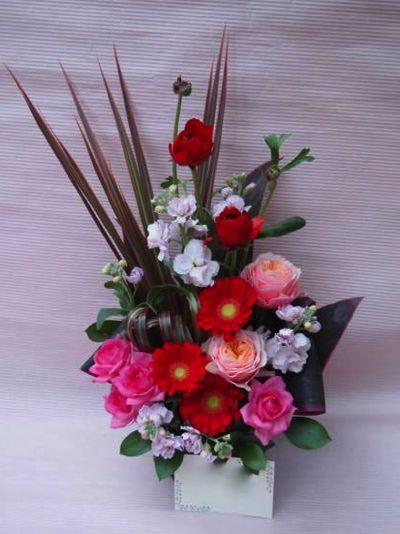 花ギフト|フラワーギフト|誕生日 花|カノシェ話題|スタンド花|ウエディングブーケ|花束|花屋|00038119