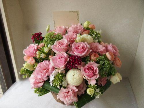 花ギフト|フラワーギフト|誕生日 花|カノシェ話題|スタンド花|ウエディングブーケ|花束|花屋|57518
