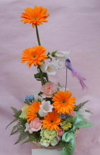 花ギフト|フラワーギフト|誕生日 花|カノシェ話題|スタンド花|ウエディングブーケ|花束|花屋|P5222894