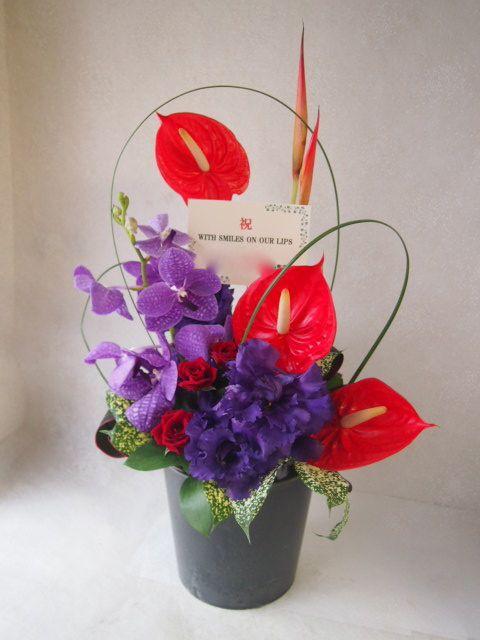 花ギフト|フラワーギフト|誕生日 花|カノシェ話題|スタンド花|ウエディングブーケ|花束|花屋|50646