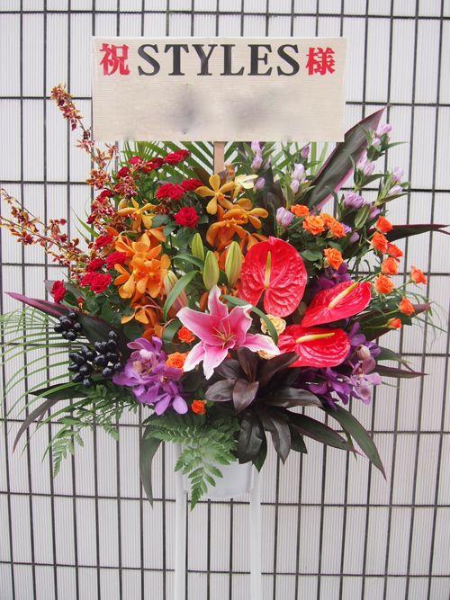 スタンド花 スタンドフラワー フラスタ カノシェ65078