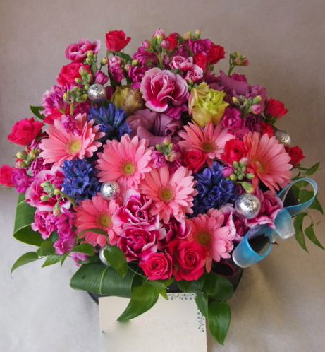 花ギフト|フラワーギフト|誕生日 花|カノシェ話題|スタンド花|ウエディングブーケ|花束|花屋|45913