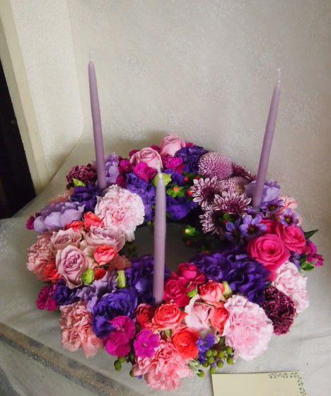 花ギフト|フラワーギフト|誕生日 花|カノシェ話題|スタンド花|ウエディングブーケ|花束|花屋|52060
