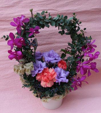 花ギフト|フラワーギフト|誕生日 花|カノシェ話題|スタンド花|ウエディングブーケ|花束|花屋|1207-st