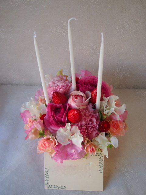 花ギフト|フラワーギフト|誕生日 花|カノシェ話題|スタンド花|ウエディングブーケ|花束|花屋|52845