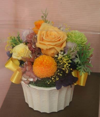 花ギフト フラワーギフト 誕生日 花 カノシェ話題 スタンド花 ウエディングブーケ 花束 花屋 IMG_7531