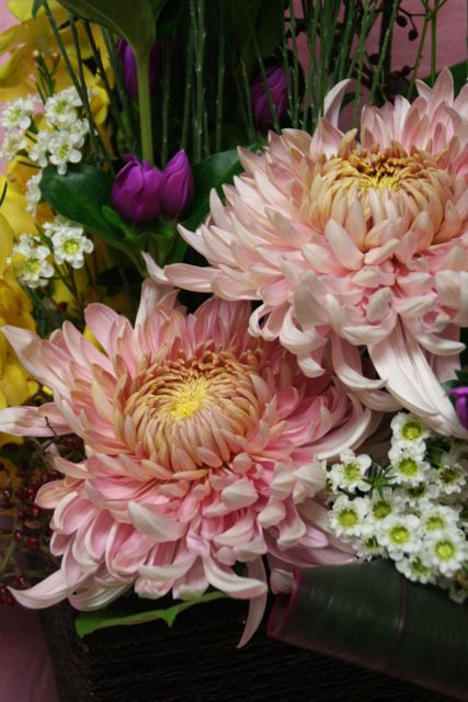 花ギフト フラワーギフト 誕生日 花 カノシェ話題 スタンド花 ウエディングブーケ 花束 花屋 IMG_9733