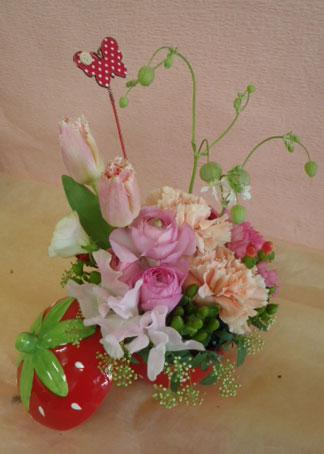 花ギフト|フラワーギフト|誕生日 花|カノシェ話題|スタンド花|ウエディングブーケ|花束|花屋|itigo-jun