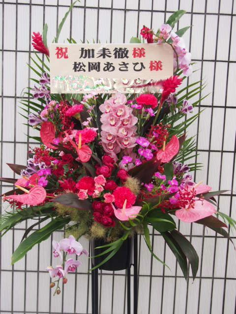 花ギフト|フラワーギフト|誕生日 花|カノシェ話題|スタンド花|ウエディングブーケ|花束|花屋|48948